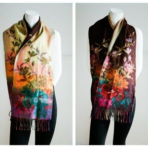 Northern Reflections Super Soft Floral Scarf